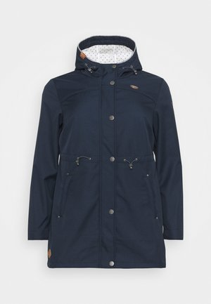 HALINA - Summer jacket - navy