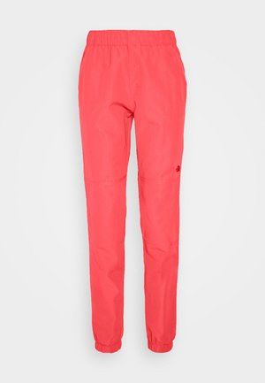 WOMENS CLASS JOGGER - Outdoor trousers - cayenne red