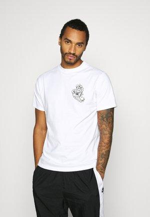 UNISEX UNIVERSAL HAND - Print T-shirt - white