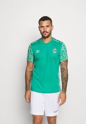 WERDER BREMEN TRAINING - Club wear - spectra green/ice green