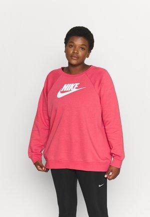 CREW PLUS - Sweatshirt - archaeo pink/white