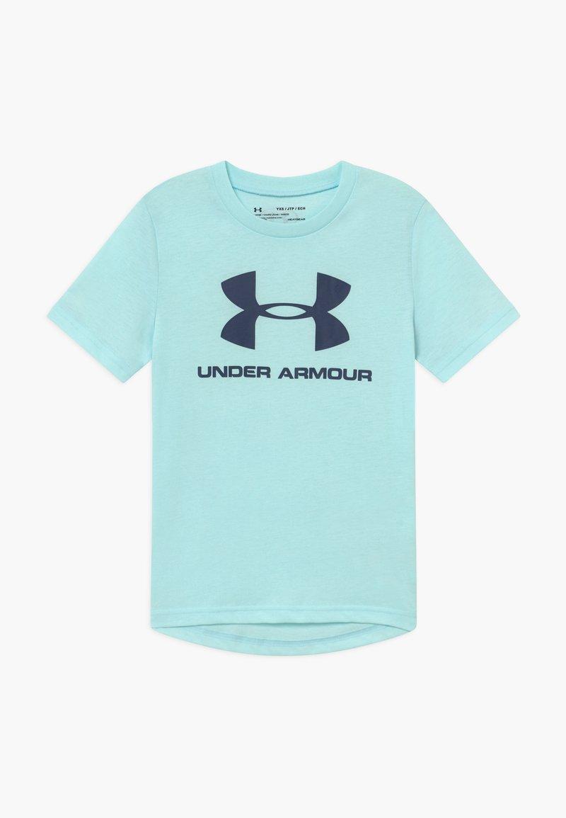 Under Armour - Print T-shirt - rift blue/blue ink