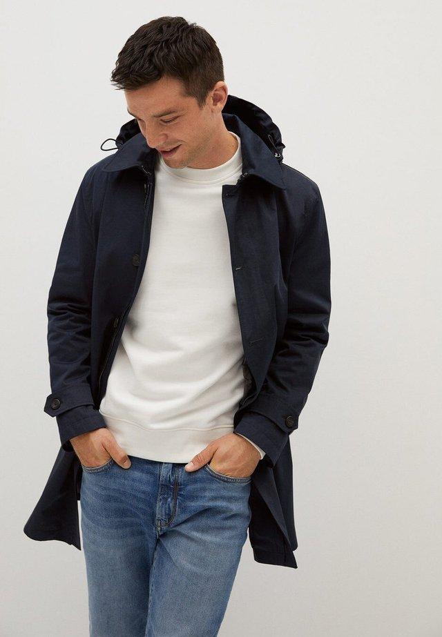 CHAYTON - Halflange jas - dunkles marineblau