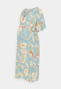 MAMALICIOUS - MLVAIANA MIDI DRESS - Długa sukienka - snow white - 0