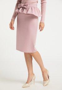 faina - Pencil skirt - rosa - 0