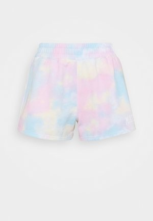 Shorts - tie dye wash effect