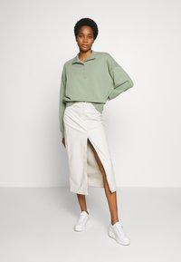 Weekday - EMMIE SKIRT - A-line skirt - beige dusty light - 1