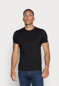 Replay - SHORT SLEEVE - Basic T-shirt - black - 0