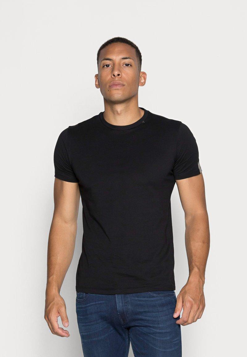 Replay - SHORT SLEEVE - Basic T-shirt - black