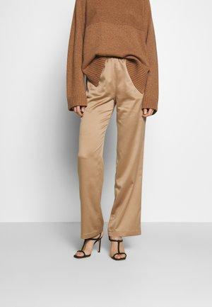 PAVIA - Trousers - kamel