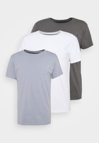 white/periwinkle/ash grey