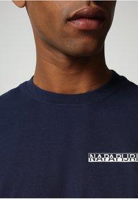 Napapijri - S SURF - Print T-shirt - medieval blue - 2