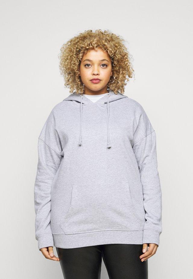 BASIC HOODIE - Sweatshirt - grey