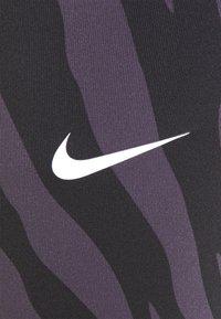Nike Performance - ONE 7/8 - Leggings - dark raisin/white - 6
