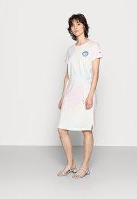 Tommy Hilfiger - ONE PLANET DRESS - Jersey dress - pastel multi - 1