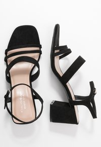 Miss Selfridge Wide Fit - WIDE FIT STORMI BLOCK - Sandaler - black - 3