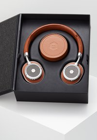 Master & Dynamic - MW50 WIRELESS ON-EAR - Høretelefoner - brown/silver-coloured - 3