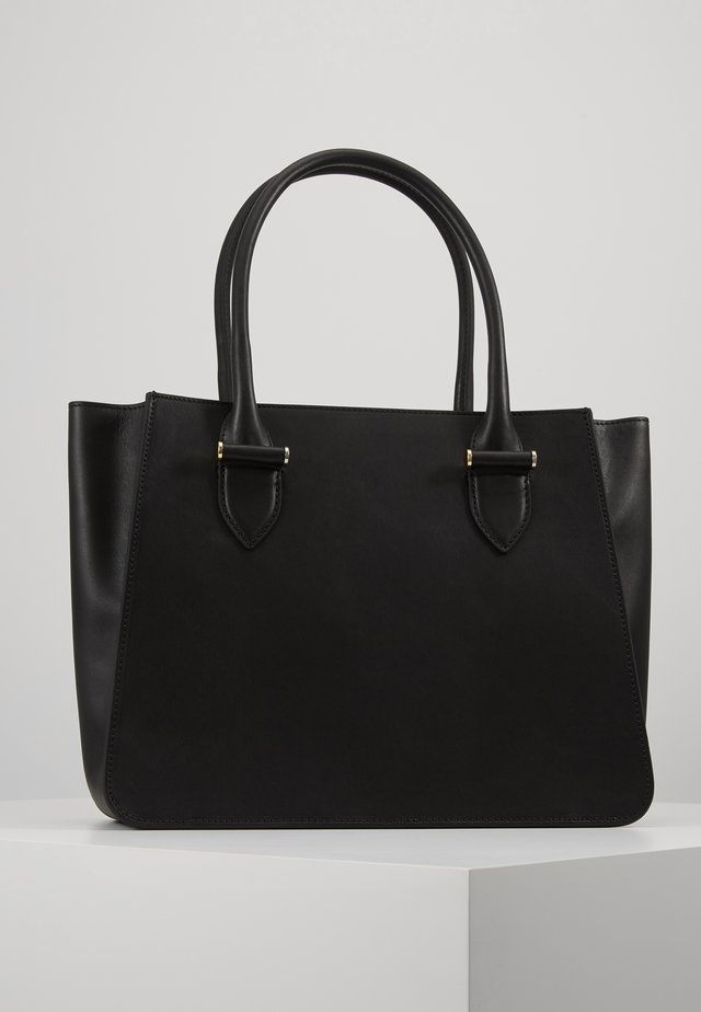 EDIE BIG TOTE - Handtas - black