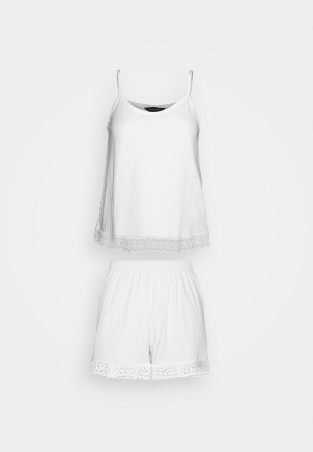TRIM SHORT  - Pyjamas - white
