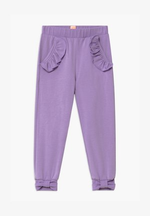 PANCY FANCY - Tracksuit bottoms - purple