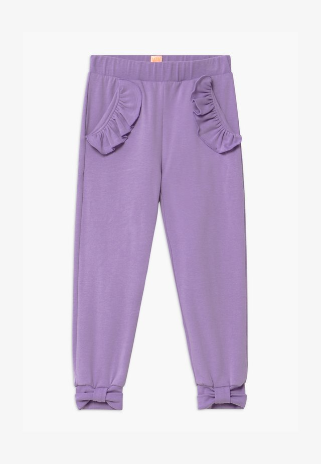 PANCY FANCY - Pantalones deportivos - purple