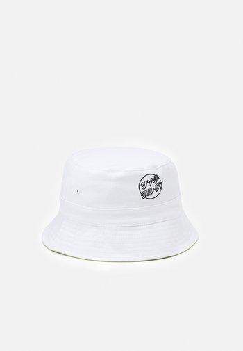 OPUS JAPANESE DOT HAT UNISEX - Hat - white/lime