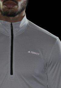 adidas Performance - Fleece jumper - grey - 5