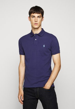 SLIM FIT MODEL - Polo - boathouse navy