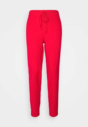 LOUNGE PANT - Trousers - red