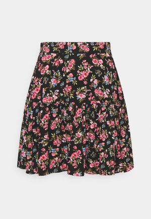 VICARE SHORT SKIRT - Mini skirt - black