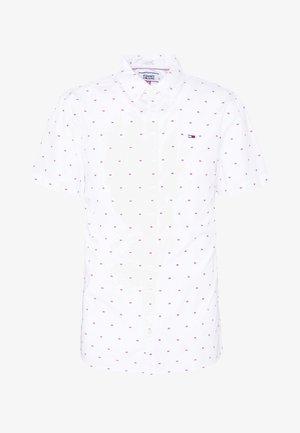 SHORTSLEEVE DOBBY - Shirt - white