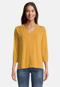 Betty & Co - MIT 3/4 ARM - T-shirt à manches longues - golden glow - 0