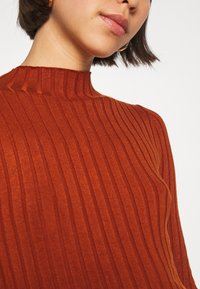 Even&Odd - Wide rib jumper - Trui - brown - 5