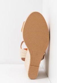 Even&Odd - Sandalen met hoge hak - orange - 6