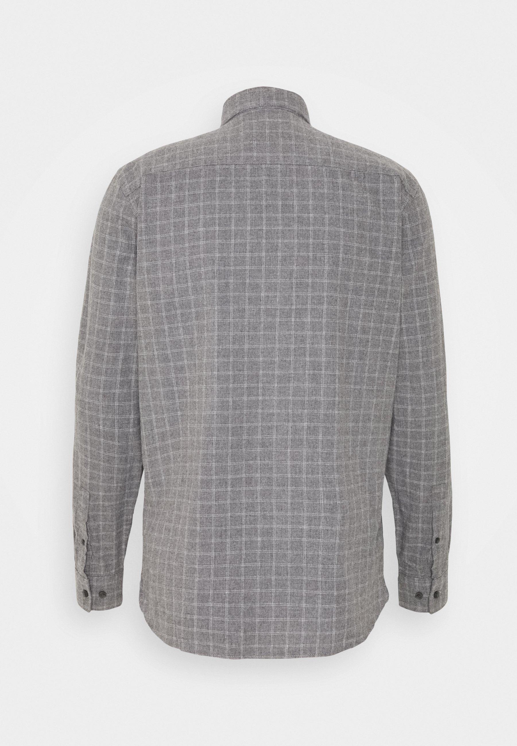 Casual Friday Anton - Skjorte Light Grey Melange/grå