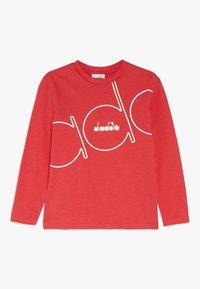 Diadora - PALLE - T-shirt à manches longues - dark red - 0