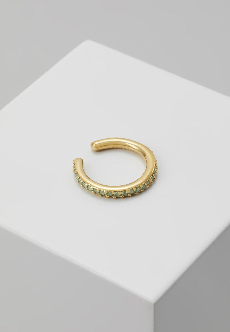 Maria Black - COLORE EAR CUFF MINT - Earrings - gold-coloured