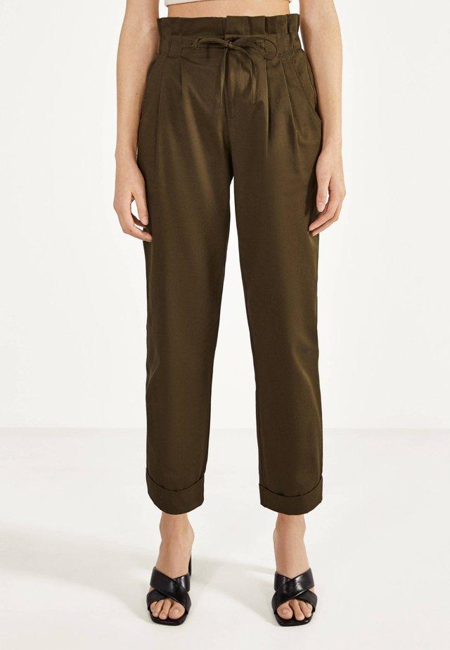 PAPERBAG - Pantalon classique - khaki