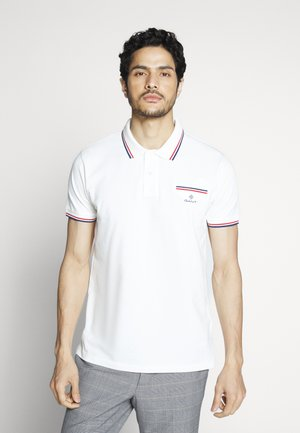 TIPPING RUGGER - Polo shirt - eggshell