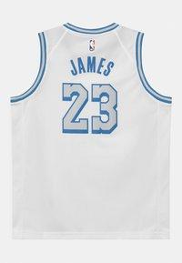 Nike Performance - NBA CITY EDITION LEBRON JAMES LA LAKERS UNISEX - Club wear - white - 1