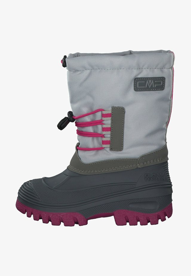 Winter boots - grey/orchid