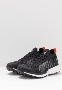 adidas Performance - TERREX TWO PARLEY - Trail running shoes - core black/grey three/true orange - 2