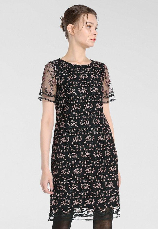 Sukienka koktajlowa - schwarz-puder