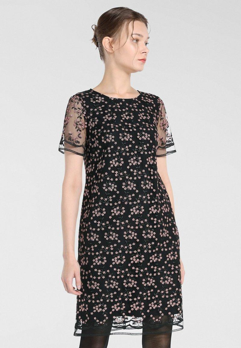 Apart Cocktailkleid/festliches Kleid - schwarz-puder ...
