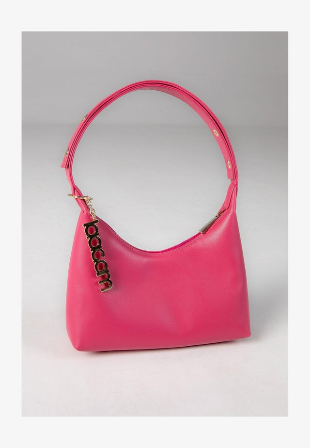 TRIANGLE  - Handbag - neon pink