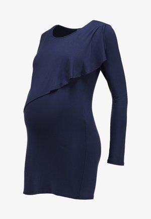 SIDONIE  - Long sleeved top - navy blue