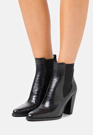 ALENA BOA - Boots à talons - noir