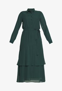 Dorothy Perkins - TIERED SHIRT DRESS - Kjole - green - 4