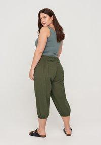 Zizzi - Trousers - green - 1