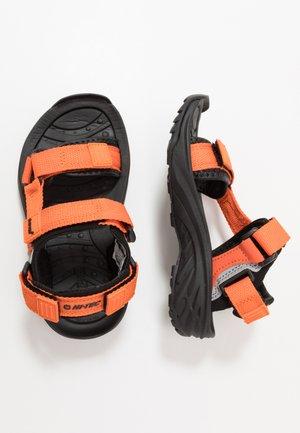 ULA RAFT - Chodecké sandály - red/black